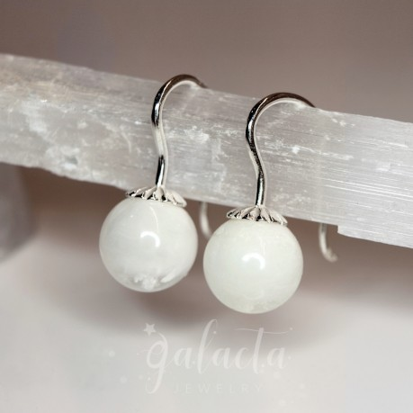 Breastmilk jewelry earrings