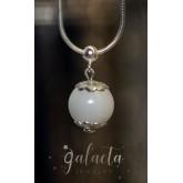 Breastmilk pearl pendant - keepsake jewelry