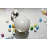 Breastmilk pearl pendant